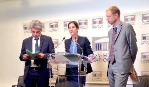 Sébastien Jumel, Elsa Faucillon, Pierre Dharréville